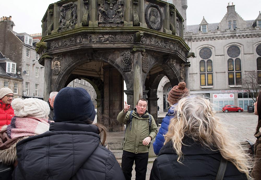 Crime & Punishment in Medieval Aberdeen Walk