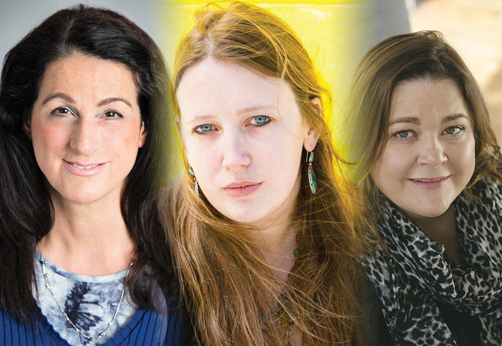 Meet Tomorrow's Stars Today: Claire Askew, Ruth Mancini and Harriet Tyce