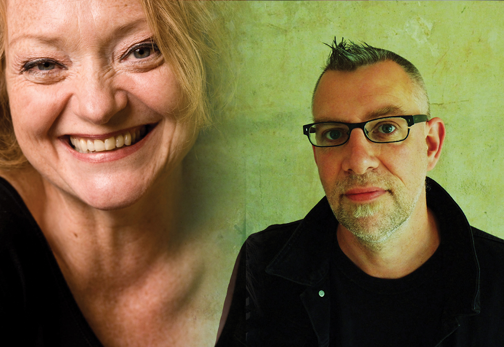 Vocal Chords: Stella Duffy and Graeme Macrae Burnet